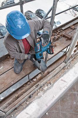 Bosch Akku-Bohrhammer GBH 18 V-EC  L-BOXX Werkzeugkoffer 0611904003 ohne Akku – Bild 4