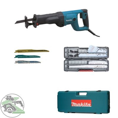 Makita Reciprosäge Säbelsäge JR3050T + Bosch Säbelsägeblatt-Set 17tlg. Tough Box