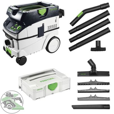 Festool Absaugmobil CTM 26 E AC 574978 + Kompakt Reinigungs-Set K-RS-Plus 203430