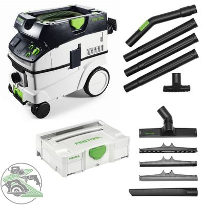Festool Absaugmobil CTM 26 E 574981 + Kompakt Reinigungs-Set K-RS-Plus 203430