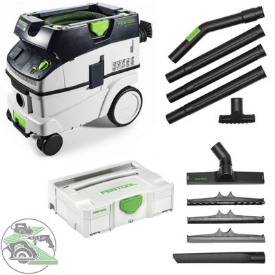 Festool Absaugmobil CTL 26 E 574947 + Kompakt Reinigungs-Set K-RS-Plus 203430