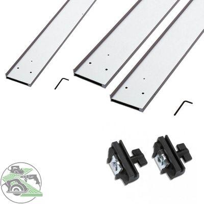 Mafell Führungsschiene 3 m + FS-Verlängerung + Adapterpaar Parallelanschlag
