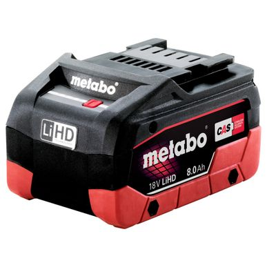 Metabo Akku Handkreissäge KS 18 LTX 57 1x5,5Ah 1x8,0Ah LiHD 18V Akku im Metaloc – Bild 6