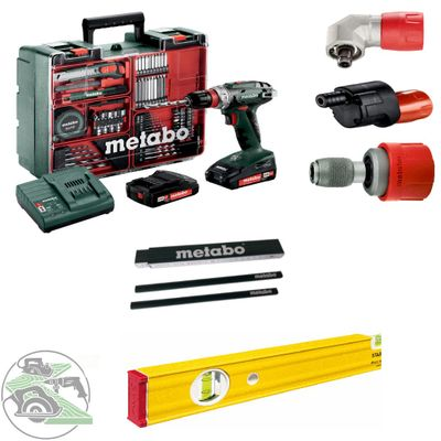 Metabo Mobile Werkstatt BS 18 Quick Set Winkeladapter Aufsatz Wasserwaage  – Bild 1