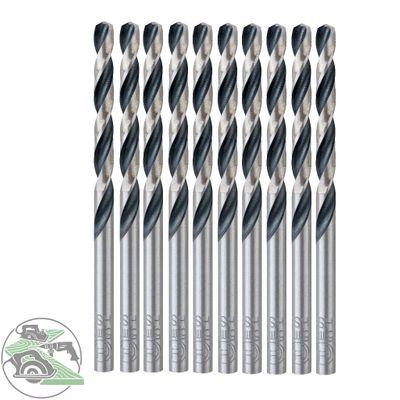 Bosch 10x HSS-Spiralbohrer PointTeQ 5,0mm Länge 86mm Stahl Eisenmetalle 10 Stück