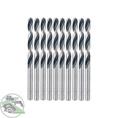 Bosch 10x HSS-Spiralbohrer PointTeQ 7,0 mm Länge 109mm Metallbohrer Stahl Eisen