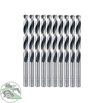 Bosch 10x HSS-Spiralbohrer PointTeQ 8,0 mm Länge 117mm Metallbohrer Stahl Eisen