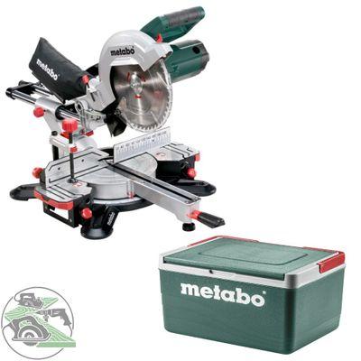 Metabo Kappsäge KGS 254 M Zugfunktion 90*/45° 305/205mm + Kühlbox 11L 691166000