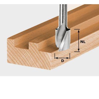 FESTOOL Spiralnutfräser HS Schaft 8 mm HS Spi S8 D6/16 Nr.:490944 – Bild 2
