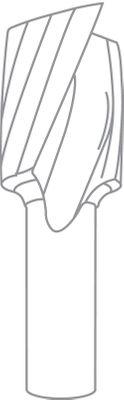 FESTOOL Spiralnutfräser HS Schaft 8 mm HS Spi S8 D6/16 Nr.:490944 – Bild 4