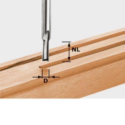 FESTOOL Nutfräser HW Schaft 8 mm HW S8 D5/12 Nr.:490954 – Bild 2