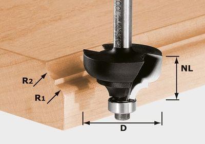 FESTOOL Multiprofilfräser HW Schaft 8 mm HW S8 D36,7/R6/R6 Nr.:491031 – Bild 3