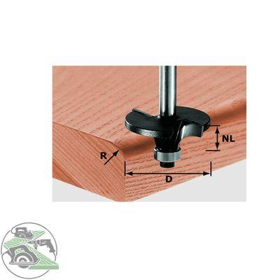 FESTOOL Profilfräser Radius HW Schaft 8 mm HW S8 D42/R6 Nr.:491131