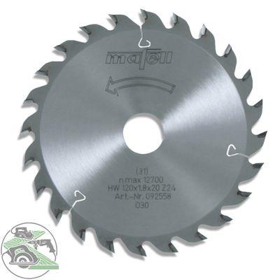 Mafell HM-Blatt 120 x 20 Z 24 WZ für KSS 300/ KSP 40 Nr. 092558