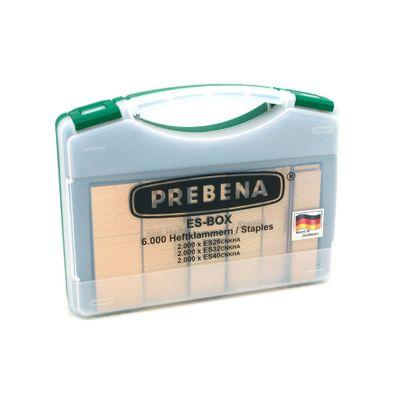 Prebena ES-BOX Heftklammern im Handwerker-Koffer für 2P-ES40SDS, PKT-2-ES40-S – Bild 1