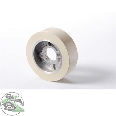 HolzHer Vorschubrolle Gummi 110 x 50 mm weiß für Vorschubapparate Holz-her SCM – Bild 1