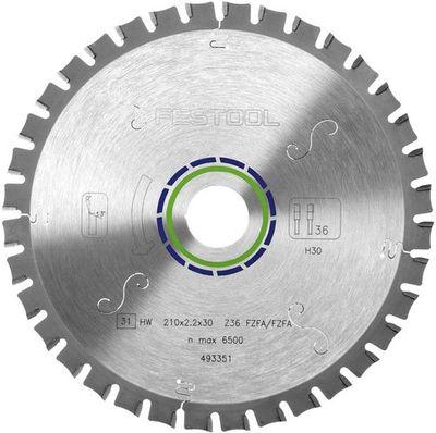 Festool Flachzahn-Sägeblatt 210x2,2x30 F36 für TS 75 493351 – Bild 4