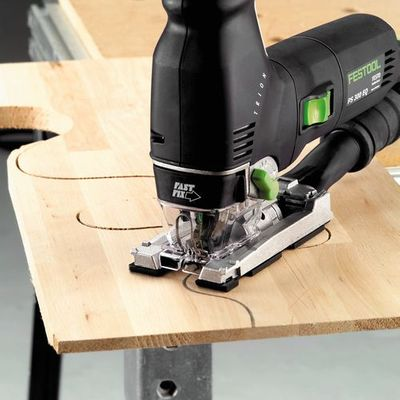 Festool Pendelstichsäge PS 300 EQ-Plus 576615 TRION SYS 1 T-LOC 720 Watt – Bild 3