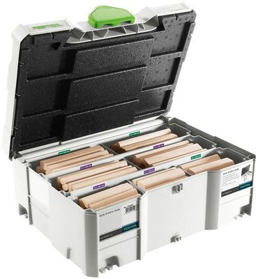 FESTOOL DOMINO XL Buche Sortiment DS/XL D12/D14 128 BU Nr. 498205 – Bild 3