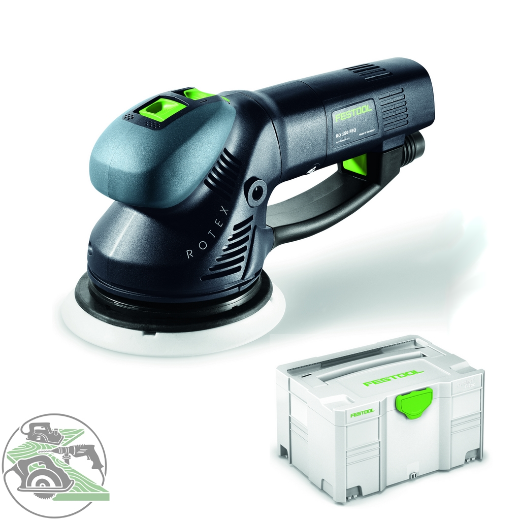 festool rotex schleifer ro 150 feq plus 571805 polierer. Black Bedroom Furniture Sets. Home Design Ideas