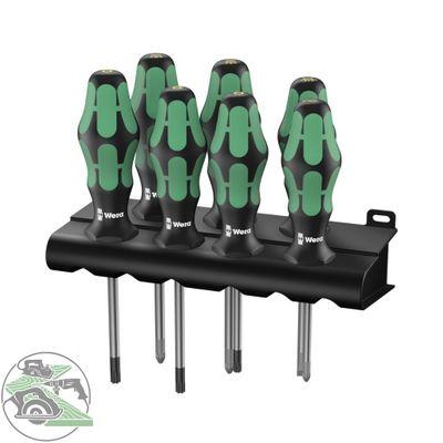 Wera 335/350/367/7 Rack Schraubendrehersatz Kraftform Plus Lasertip 05320540001