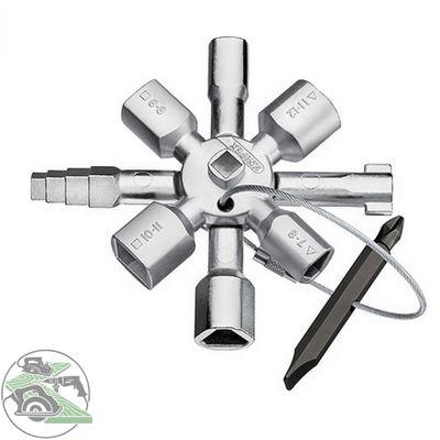 KNIPEX TwinKey® für gängige Schränke und Absperrsysteme 92 mm Nr. 00 11 01