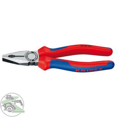 Knipex Kombizange 180 mm 0302180 Zange Seitenschneider Mehrkomponenten Hüllen