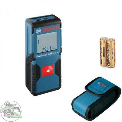 BOSCH Laser Entfernungsmesser GLM 30 inkl. Schutztasche Nr. 0601072500