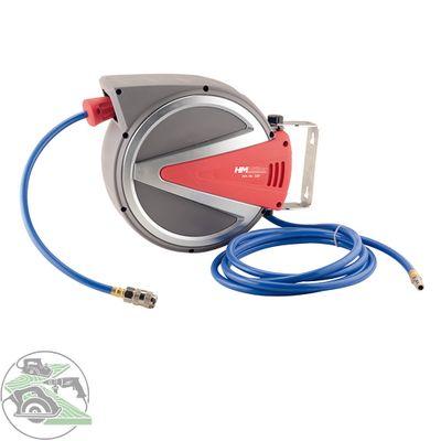 Druckluft-Schlauchtrommel 10 Meter Schlauch 8 x 12 mm Nr. 33F Aufrollautomatik