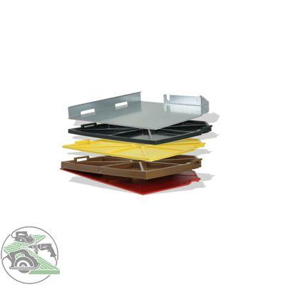 Bepo DistaClip Set 4 Distanzplatten 2 4 6 10 mm Montagefräse FFS151SE 151E