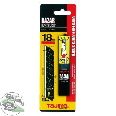 Tajima 10 Ersatzklingen Razar Black LCB-50 RBC Abbrechklinge Klingen Messer