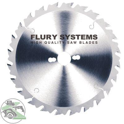 Flury HM-Blatt 300 x 30 mm Z 24 WZ rückschlagarm Kreissägeblatt Sägeblatt