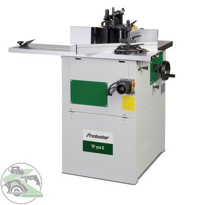 Holzstar Tischfräse Tischfräsmaschine TF 170 E Schiebeschlitten 12 mm Spannzange – Bild 1