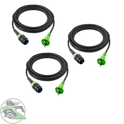 Festool plug it-Kabel H05 RN-F4/3 Gummikabel 240 V 203935 (499851) 3 Stück