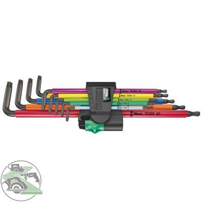 Wera Winkelschlüsselsatz 967/9 TX XL Multicolour 1 Schraubendreher TORX – Bild 1