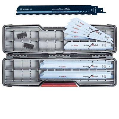 Bosch Säbelsägeblatt-Set ToughBox 21 tlg. Carbide Metal Set Reciprosäge – Bild 1