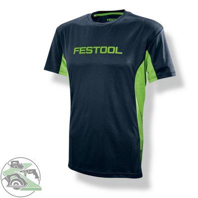 Festool Funktionsshirt Herren Gr. XL Fanartikel T-Shirt atmungsaktiv ultraleicht – Bild 1