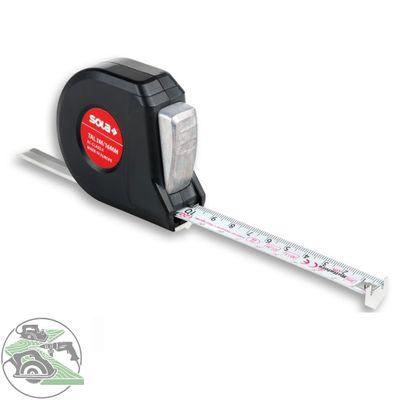 Sola Talmeter TAL3m 51011601 Rollbandmaß Rollmeter Breite 16 mm Länge 3 m
