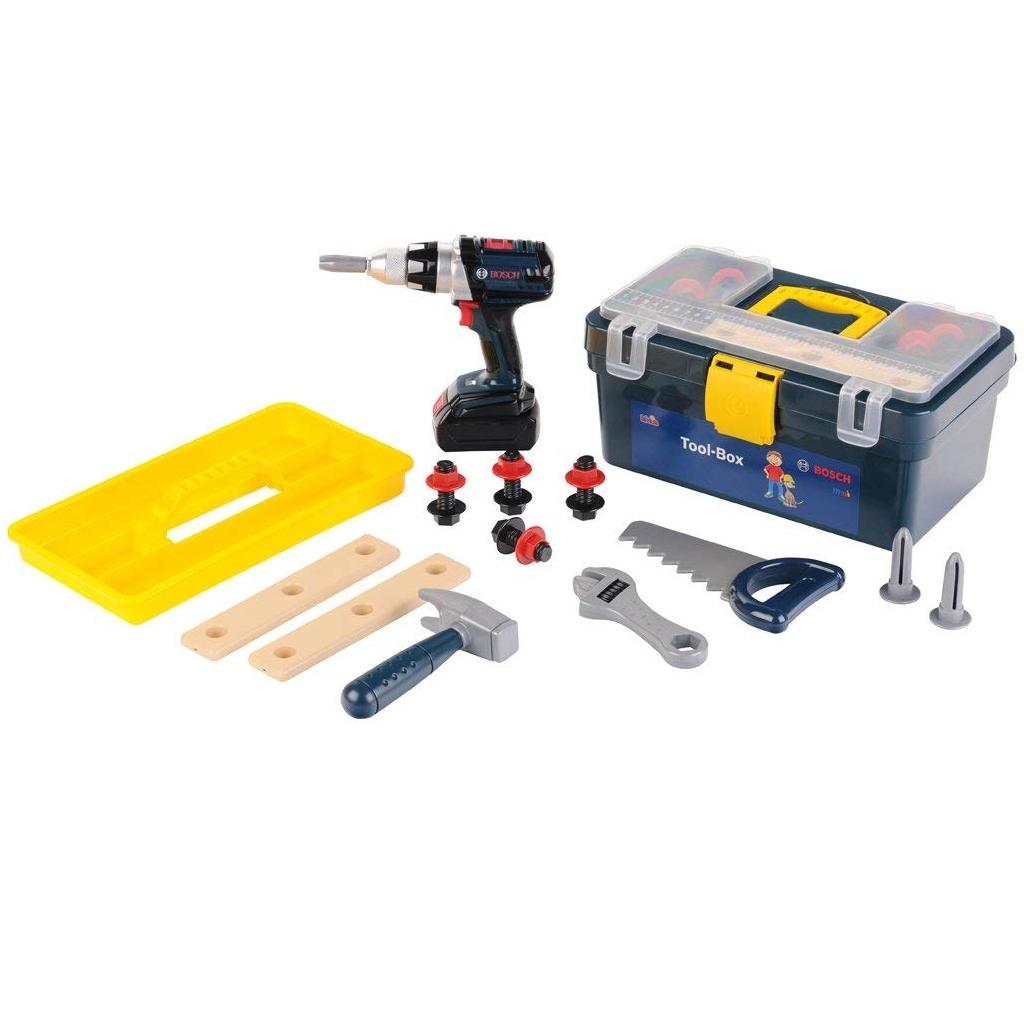Bosch Kinder Werkzeugbox groß Theo Klein Spielzeug ...