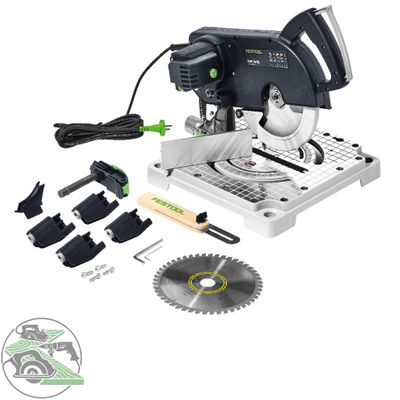 Festool Leistensäge SYM 70 RE 574927 Symmetric Cleantec MMC Electronic FastFix