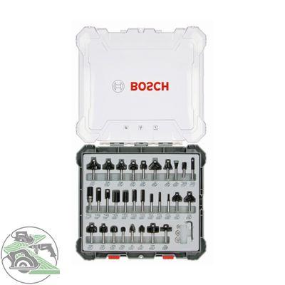 Bosch Fräser-Set 30-teilig Schaft 8mm 2607017475 für Oberfräse