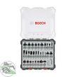 Bosch Fräser-Set 30-teilig Schaft 8mm 2607017475 für Oberfräse 001