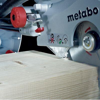 Metabo KGS 315 Plus Kappsäge Zugfunktion Schnittbereich 120x320 mm 0103150000 – Bild 3