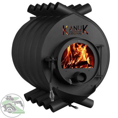 Warmluftofen Kanuk 02 Classic Holzofen Werkstattofen 15 kW 2100102 – Bild 1