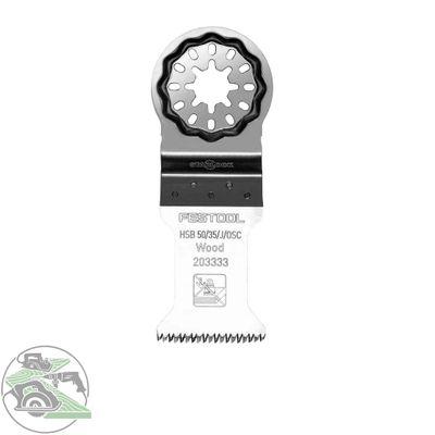 Festool Holz-Sägeblatt HSB 50/35/J/OSC/5 für OSC 18 StarlockPlus 203333 5 Stück – Bild 1