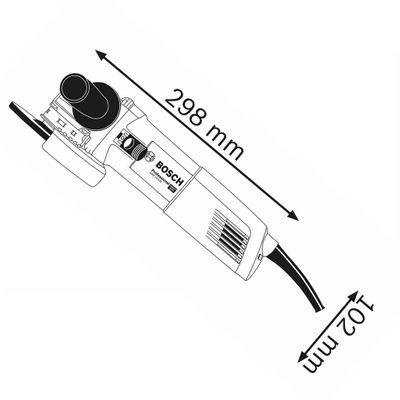 Bosch Winkelschleifer GWX 14-125 Professional X-LOCK Handgriff 06017B7000 – Bild 2