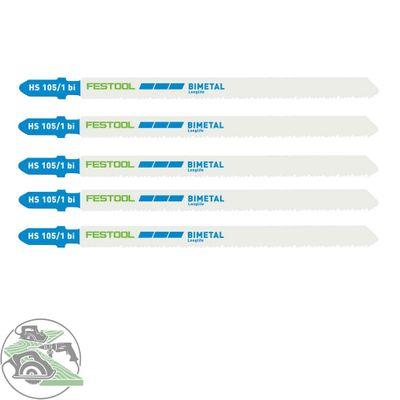 Festool Stichsägeblatt HS 105/1 BI/5 für PS 300, PSB 300, PS 400, PSC 400, uvm.