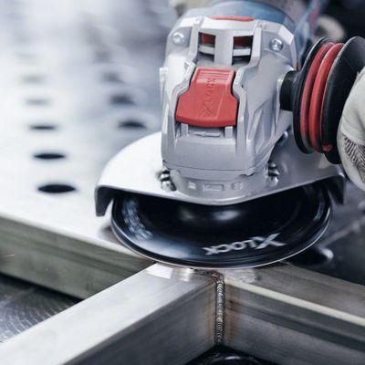 Bosch X-LOCK Fiberscheibe Schleifscheiben 125 mm K80 R444 Expert for Metal – Bild 3