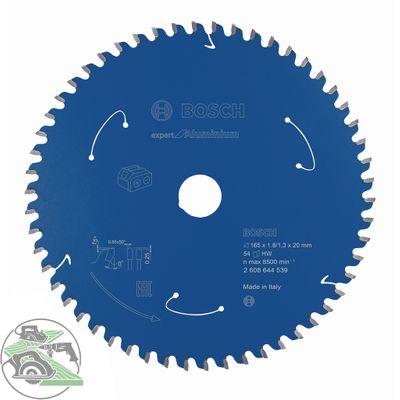 Bosch Kreissägeblatt Expert for Aluminium 165 x 20 mm 54 Zähne 2608644539 – Bild 1