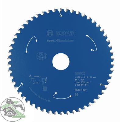 Bosch Kreissägeblatt Expert for Aluminium 190 x 30 mm 54 Zähne 2608644541